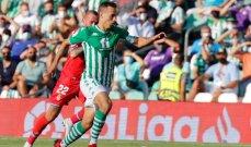 الدوري الإسباني: اسبانيول يخطف التعادل في اللحظات الأخيرة من ريال بيتيس المنقوص