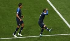 غريزمان افضل لاعب في المباراة النهائية لكأس العالم 2018