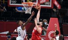 أولمبياد طوكيو - كرة سلة: فوز كبير للولايات المتّحدة الأميركية على إيران