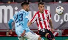 الدوري الإسباني: سيلتا فيغو يعود بفوز ثمين من معقل بلباو