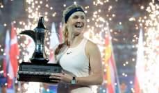 سفيتولينا تفوز بلقب بطولة دبي للتنس