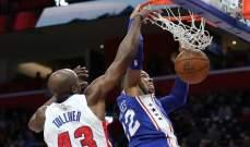 NBA : ديترويت يهدي ميلووكي المركز الاخير في النهائيات