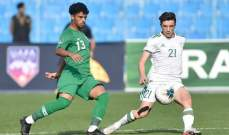 الجزائر تنتزع من السعودية بطاقة التأهل الى ربع نهائي كأس العرب للشباب