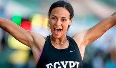 بطلة مصر في العاب القوى تعلن غيابها عن الاولمبياد