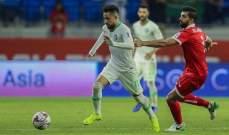 باهبري افضل لاعب في لقاء لبنان والسعودية