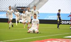 الدوري الفرنسي: مارسيليا يخطف فوزاً قاتلاً وينتزع المركز الخامس