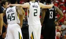 NBA PLAYOFFS: يوتا يعادل سلسلة نصف النهائي مع هيوستن