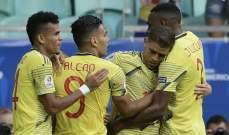 تقييم اداء لاعبي مباراة كولومبيا وباراغواي
