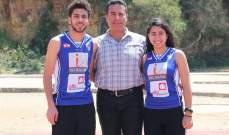 ذهبية وبرونزية للبنان في بطولة العرب للشباب في العاب القوى