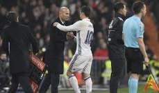رودريغيز سيعود الى تدريبات ريال مدريد