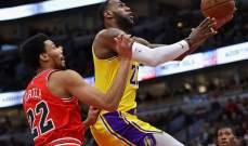 NBA: سقوط نيكس وكافاليرز وفوز ليكرز