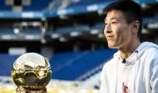 وو لي يفوز بجائزة افضل رياضي في الصين