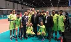 لبنان يستهل مشواره بالالعاب العالمية للاولمبياد الخاص  بفوز لافت بكرة الطائرة على نظيره الروسي