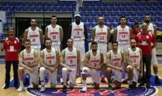 مونديال السلة: المنافسة تحتدم بين لبنان والاردن على صدارة المجموعة الثالثة