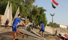 رياضات مائية حديثة تزدهر على أمواج دجلة في بغداد
