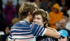 زفريف يتحدث عقب تخطيه روبليف في بطولة استراليا