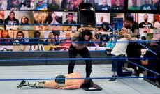 راينز يفوز على براين ويطرده من سماك داون