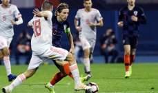 احصاءات مباراة اسبانيا وكرواتيا في دوري الامم الاوروبي