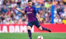 لينغليت:برشلونة يمتلك لاعبين من الطراز العالي وسعيد بمشاركتي مع برشلونة