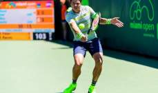 راونيتش يواجه شاردي في الدور ال 16 من بطولة ميامي المفتوحة