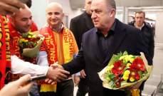 الجماهير التركية تستقبل بعثة غلطة سراي في موسكو