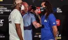 وايت: بطولة UFC 251 أكثر رواجاً من نزالات كونور ماكغريغور