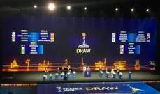 نتائج قرعة كأس العالم للسيدات 2019