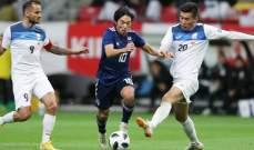 اليابان تفوز وديا على قزغستان وكوريا على اوزبكستان