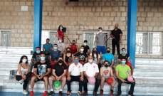 لجنة الشاتل تايم والمدربين في الاتحاد اللبناني للريشة نظمت دورة تدريبية