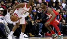 NBA : واشنطن ويزيردز يفوز على هيوستن روكيتس