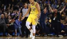 ارقام ستيفان كوري تعطيه لقب لاعب الاسبوع في المجموعة الغربية في  NBA