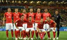 سويسرا تخطف التعادل في بداية الشوط الثاني من البرازيل