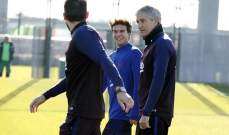 برشلونة يعود للتدريبات وانباء سارة