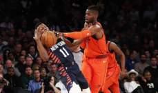 NBA : ثاندر يفوز على نيكس و31 نقطة لبول جورج