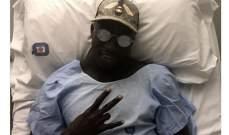 ميندي يمزاج جيد بعد العملية الجراحية
