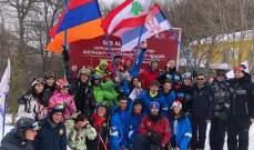 بطولة الدول الصغرى في التزلج :لبنان في المركز الأول ب8 ميداليات ملوّنة