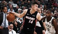 NBA: ميامي يفوز على باكس بعد تمديد الوقت