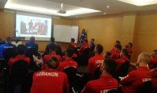 التدريب الثاني للمنتخب اللبناني في كوريا استعداداً للتصفيات المزدوجة
