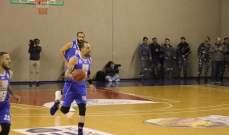 ترتيب بطولة لبنان لكرة السلة بعد انتهاء الدوري العادي ومواجهات الفينال 8