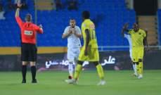 التعاون يزيد من اوجاع اتحاد جدة في مباراة ال 8 اهداف