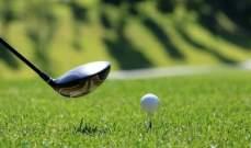 منافسات الغولف الى الواجهة مجددا