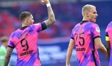 الدوري الفرنسي: باريس سان جيرمان يتمسك بالوصافة بفوز صعب على سانت ايتيان