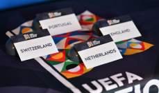 هولندا تصطدم بإنكلترا والبرتغال تلعب مع سويسرا في نصف نهائي دوري الأمم الأوروبية