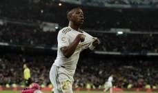فينيسيوس جونيور لاعب الشهر في ريال مدريد