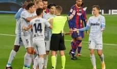 حكم الفيديو يلغي قرار الحكم الرئيسي في مباراتي برشلونة واتلتيكو