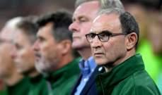 مدرب ايرلندا يسعى لمصالحة مساعده مع آرتر