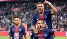 ليلة التتويج باللقب تكتمل في باريس بالفوز على موناكو وعودة نيمار وكافاني