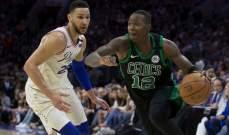 NBA PLAYOFFS : سيلتيكس يفوز على فيلادلفيا ويوسّع الفارق في السلسلة