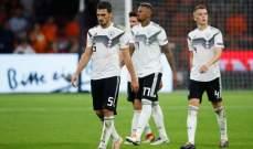 صفحة منتخب المانيا تعايد مدافع الفريق البافاري