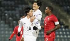 ودياً... اليابان تفوز على بنما وثنائية لبنغلادش امام النيبال